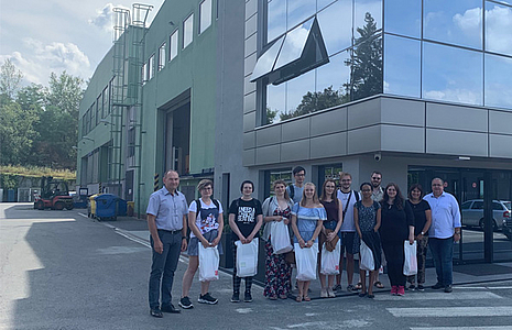 Students from Weiden visited our company